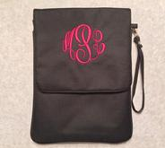 iPad cover or case, monogrammed or personalized.