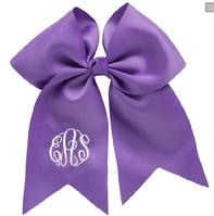 Monogrammed or personalized cheer bow or hair bow monogrammed.