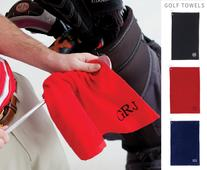 Monogrammed golf towel is a perfect golf accessory