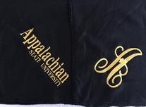 Appalachian State University Blanket/Throw with monogram