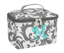 monogram cosmetic bags, great clutch or square with monogram
