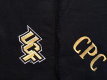 University of Central Florida blanket/throw with a monogram