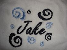 Baby Blankets monogrammed and personalized.