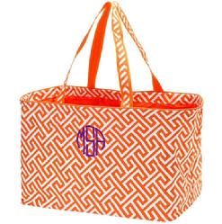 Monogrammed ultimate tote! Great carry-all tote, monogram or personalize with a name in choice of fonts and thread colors.