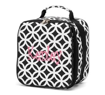Insulated monogrammed or personalized lunch box